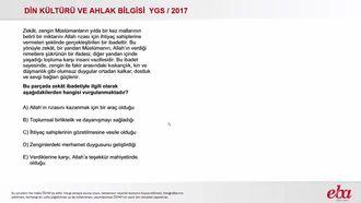 Zekat(2017 YGS-Dkab) izle