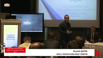 FATİH ETZ 2017: Mustafa ŞEPER - AKILLI TAHTAYI KABLOSUZ YÖNETİN izle