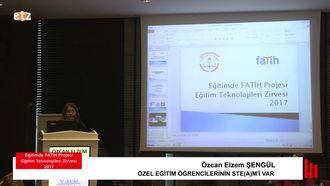 FATIH ETZ 2017 : Özcan Elzem ŞENGÜL - Özel Eğitim Öğrencilerinin Ste(A)M'İ Var izle
