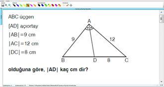Açıortay ve Açıortay Teoremleri 7 izle