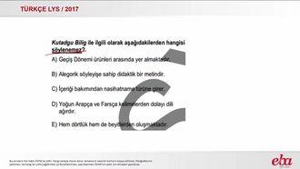 Türk Edebiyatı Geçiş Dönemi Eserleri (LYS 2017- TÜRK DİLİ VE EDEBİYATI) izle