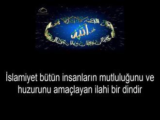 Hz.Muhammed Bir Barış Elçisidir izle