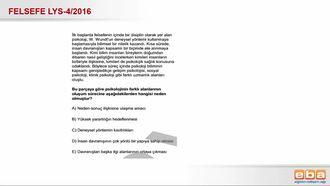 2016- LYS4 Felsef Grubu Psikolojinin Bilim Dalı Olma Süreci izle