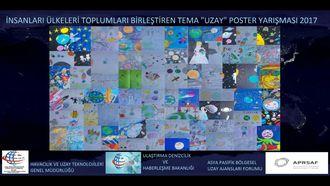 Asya-Pasifik Bölgesel Uzay Ajansları Forumu - Poster Yarışması izle
