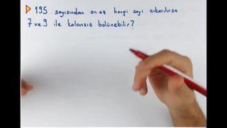 8. Sınıf Matematik EBOB-EKOK Problemleri izle