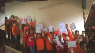 Mektuplarımız Afrin'e ulaştı izle