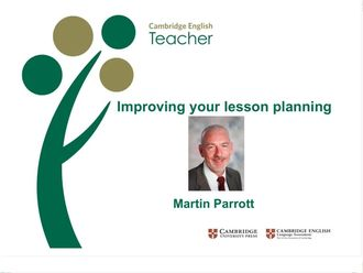 Improving your lesson planning Parrott izle