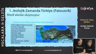 Türkiye'nin Yüzey Şekilleri - Jeolojik Zamanda Türkiye izle