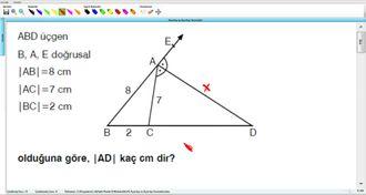 Açıortay Ve Açıortay Teoremleri 16 - EBA BİLİŞİM ORHAN BEY izle