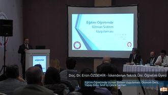 FATİH ETZ 2016:  Yrd. Doç. Dr. Ersin ÖZDEMİR - İskenderun Teknik Üniversitesi Öğre... izle
