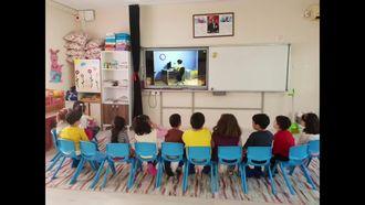 Ortaca Atatürk İlkokulu Güvenli İnternet günü çalışmaları izle