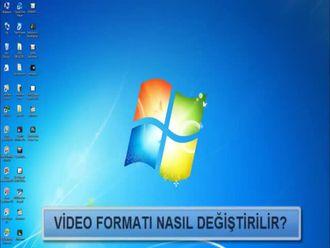 Video Formatı Nasıl Değiştirilir? izle