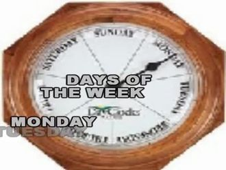 days of the week izle