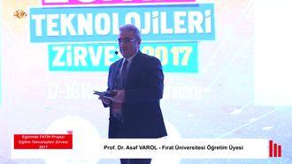 FATİH ETZ 2017 : Prof. Dr. Asaf VAROL - Eğitimde Mobil Öğrenme Paneli izle