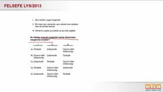 2013 LYS Mantık İlkeleri izle
