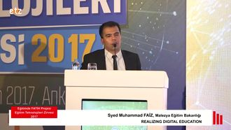 FATİH ETZ 2017 : Syed Muhammad FAİZ - REALIZING DIGITAL EDUCATION izle