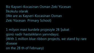 Osman Zeki Yücesan Öğrencileri Nadir Hastalıklar Gününde Hastaların Yanındaydı izle