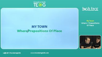 Where / Prepositions Of Place izle