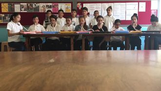 Hilmi Toksoy Ortaokulu - İzmir Marşı izle