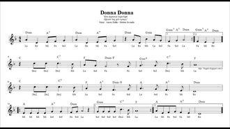 Donna Donna ( Re ) - Nota Akor Eşlik izle