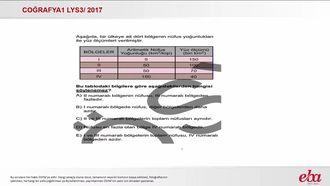 Nüfusun Gelişimi Dağılışı ve Nitelikleri (2017 LYS3-Coğrafya1) izle