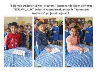 """Eğitimde Değerler Eğitimi  (EDEP) Sorumluluk Değeri """"Yumurtam Kırılmasın Projesi"""" izle"""
