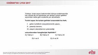 Türkiye'yi Tanıyalım (2017 LYS3-Coğrafya1) izle