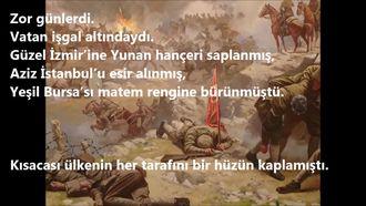 İstiklal Marşı ve Mehmet Akif ERSOY izle