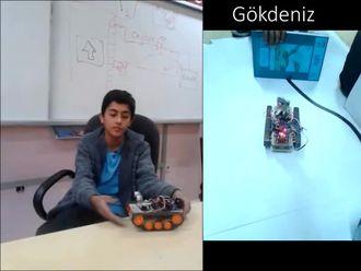 Bilişim Atölyesinde yapılan robotların kısa tanıtımı izle