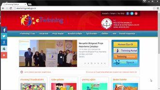 eTwinning Kategorisne video yükleme izle