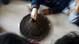 Yanardağ patlaması deneyi izle