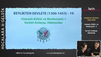 Osmanlı Kültür ve Medeniyeti -1 / Devlet Anlayışı, Hükümdar izle