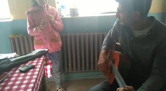 flüt ve gitar dombra izle