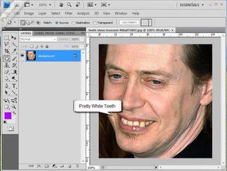 Photoshopta diş beyazlatma izle
