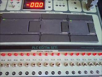 PLC ile ısı kontrol uygulaması izle