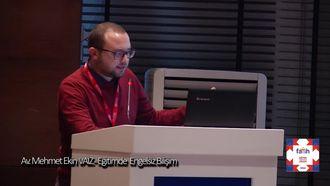 11.Oturum:Av Mehmet Ekin VAİZ - ENGELSİZ BİLİŞİM ÇALIŞMALARI izle