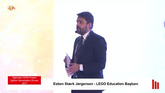 FATİH ETZ 2017 : Esben Stærk Jørgensen - LEGO Education Başkanı izle