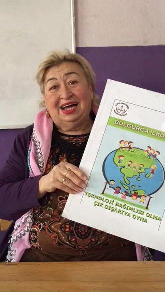 """İZMİR- Menderes Bulgurca İlkokulu """"eTwinning-Teknoloji Bağımlısı Olma, Çık Dışa... izle"""