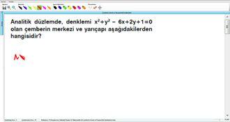 Çemberin Genel ve Parametrik Denklemleri 6 izle