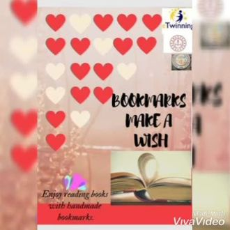 """eTwinning Günü için """"Bookmarks Make a Wish"""" projemizin ortak çalışması izle"""