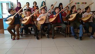 Çarşamba anafartalar ortaokulu toycular türküsü bağlama koro çalışması izle