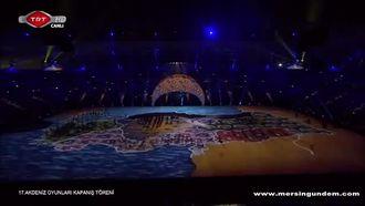 17. Akdeniz Olimpiyatları Mersin Kapanış Halk Oyunları Gösterisi izle