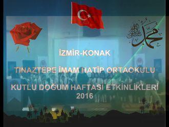 Tınaztepe İHO Kutlu Doğum Haftası Etkinliği - Koro ve Semazen izle