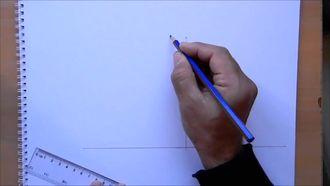 Üç Noktalı Perspektif Çizimi - 3 Noktadan Kaçışlı Perspektif Çalışması izle