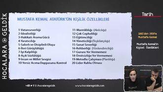 Mustafa Kemal'in Kişisel  Özellikleri izle