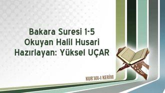 Bakara Suresi 1-5 izle