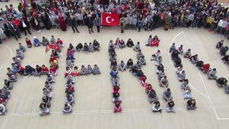 Serhan Çalık Ortaokulundan Mehmetçiğimize Anlamlı Destek izle