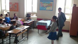 Ortaköy Cumhuriyet İlkokulu Deprem Tatbikatı izle
