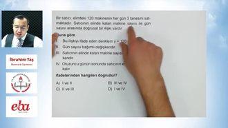TEOG-2 Matematik Son Tekrar (Bölüm-4) izle