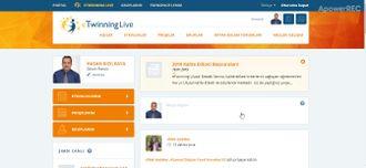 eTwinning etkinliklerine çalışmalarımızı yükleme izle